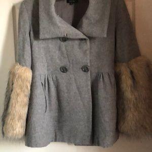 Vintage light winter coat